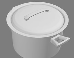 kitchen Pot 3D