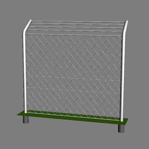 Fence Mesh max 20103D model
