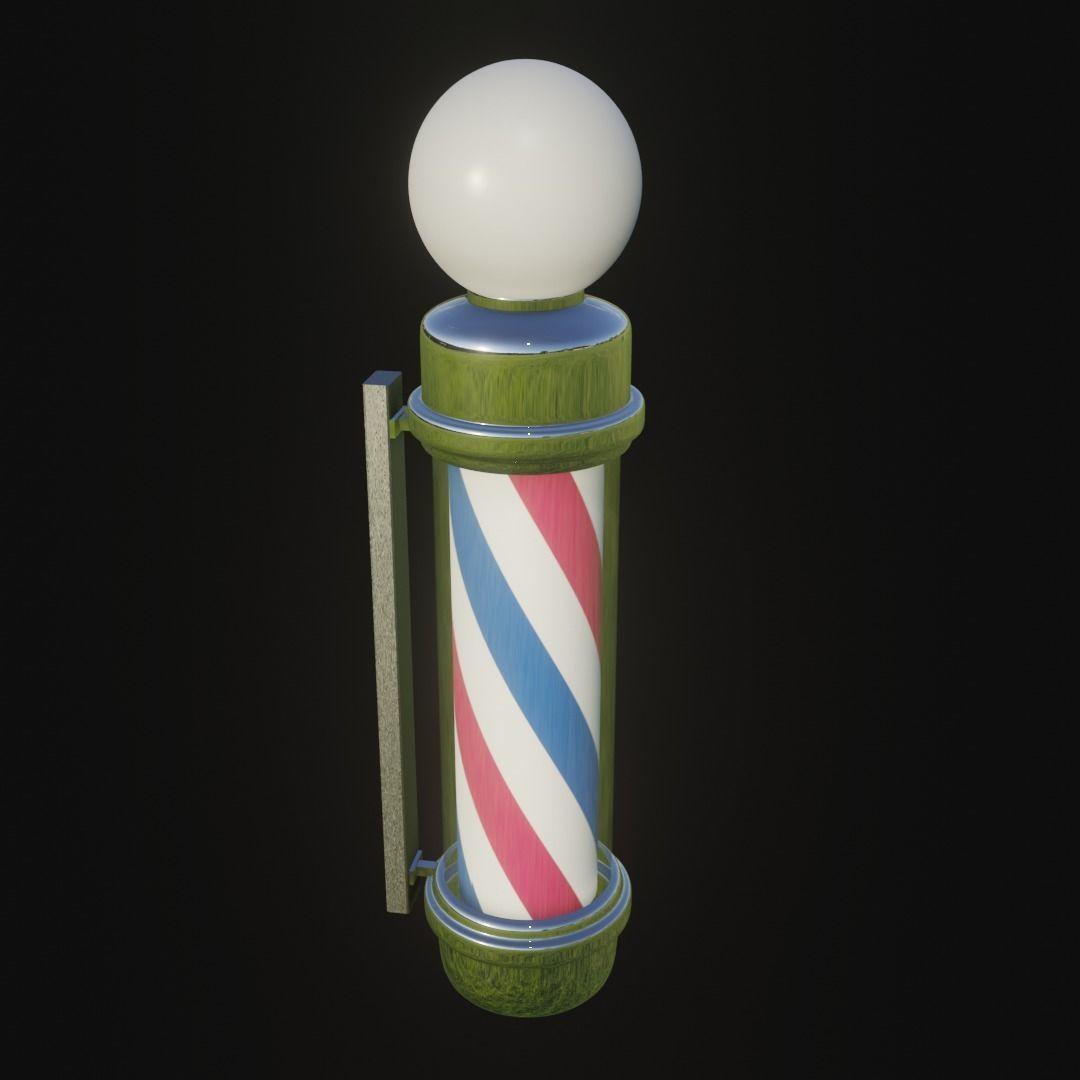 Pole Post barber