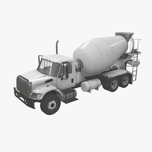 Mixer Truck International 7400