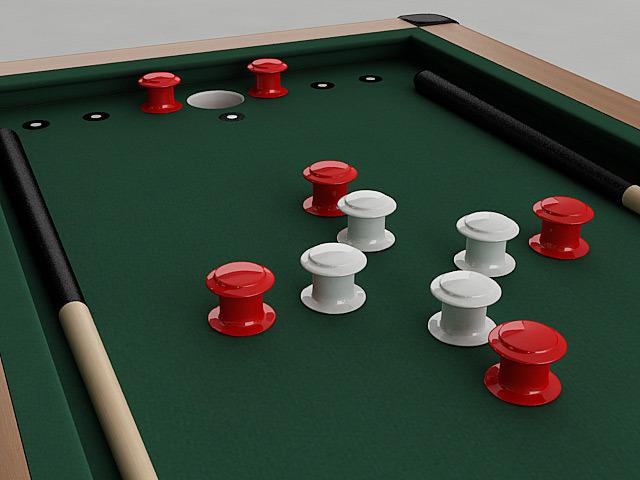 Bumper Pool Table3D model