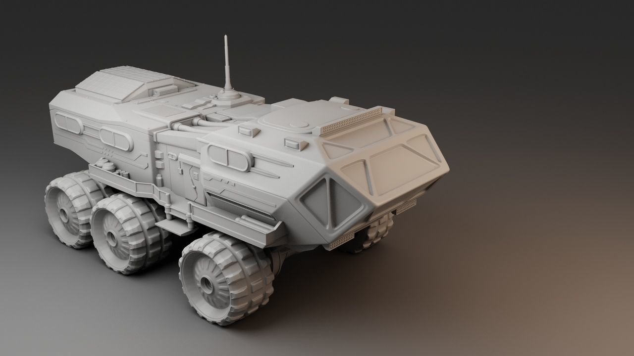 All-terrain vehicle for research