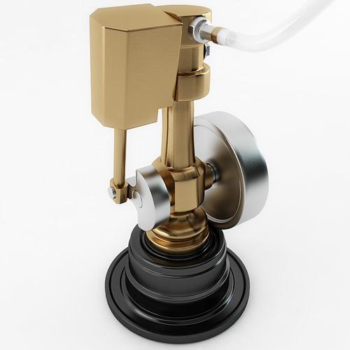 Minature Wobble Steam Empire3D model