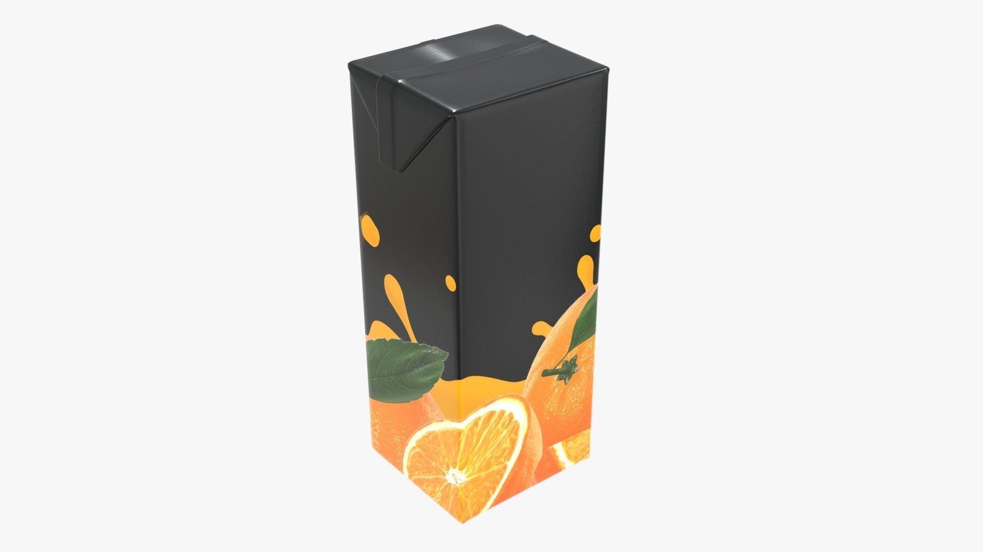 Juice 1000ml cardboard box packaging