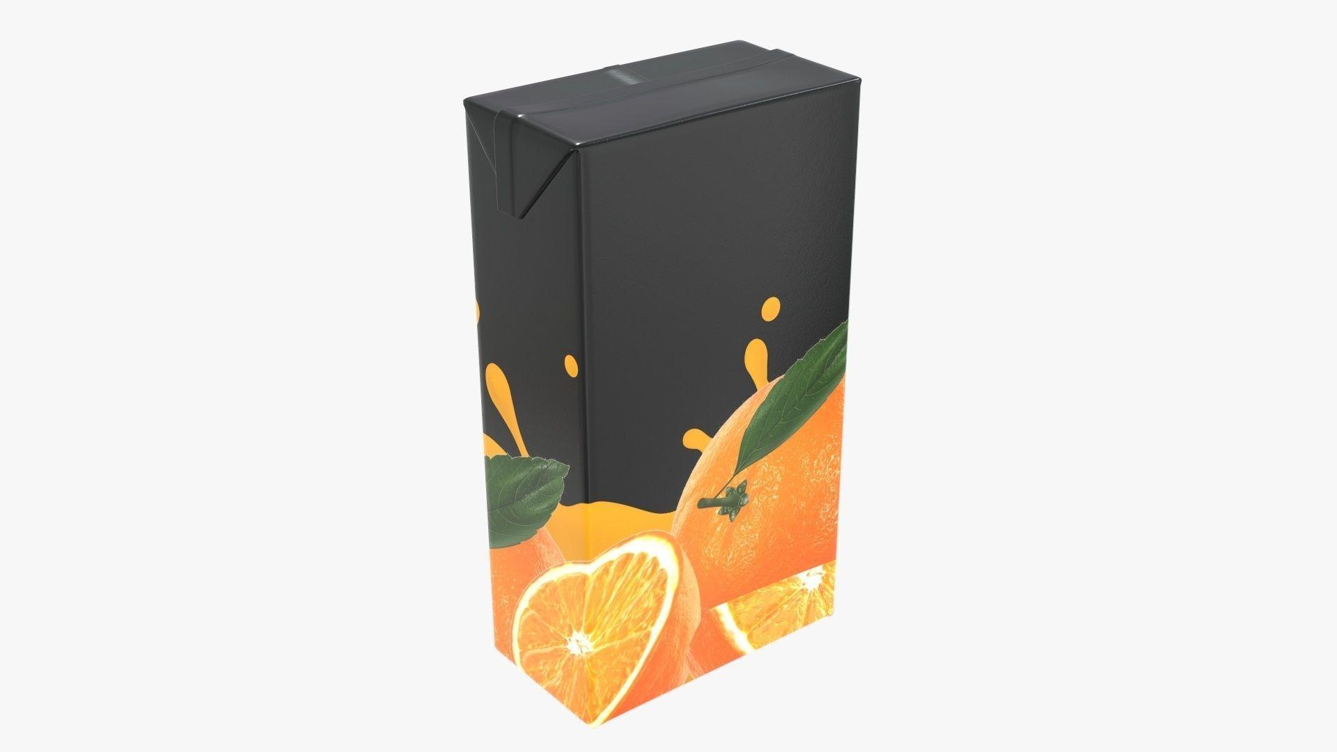 Juice 2000ml cardboard box packaging