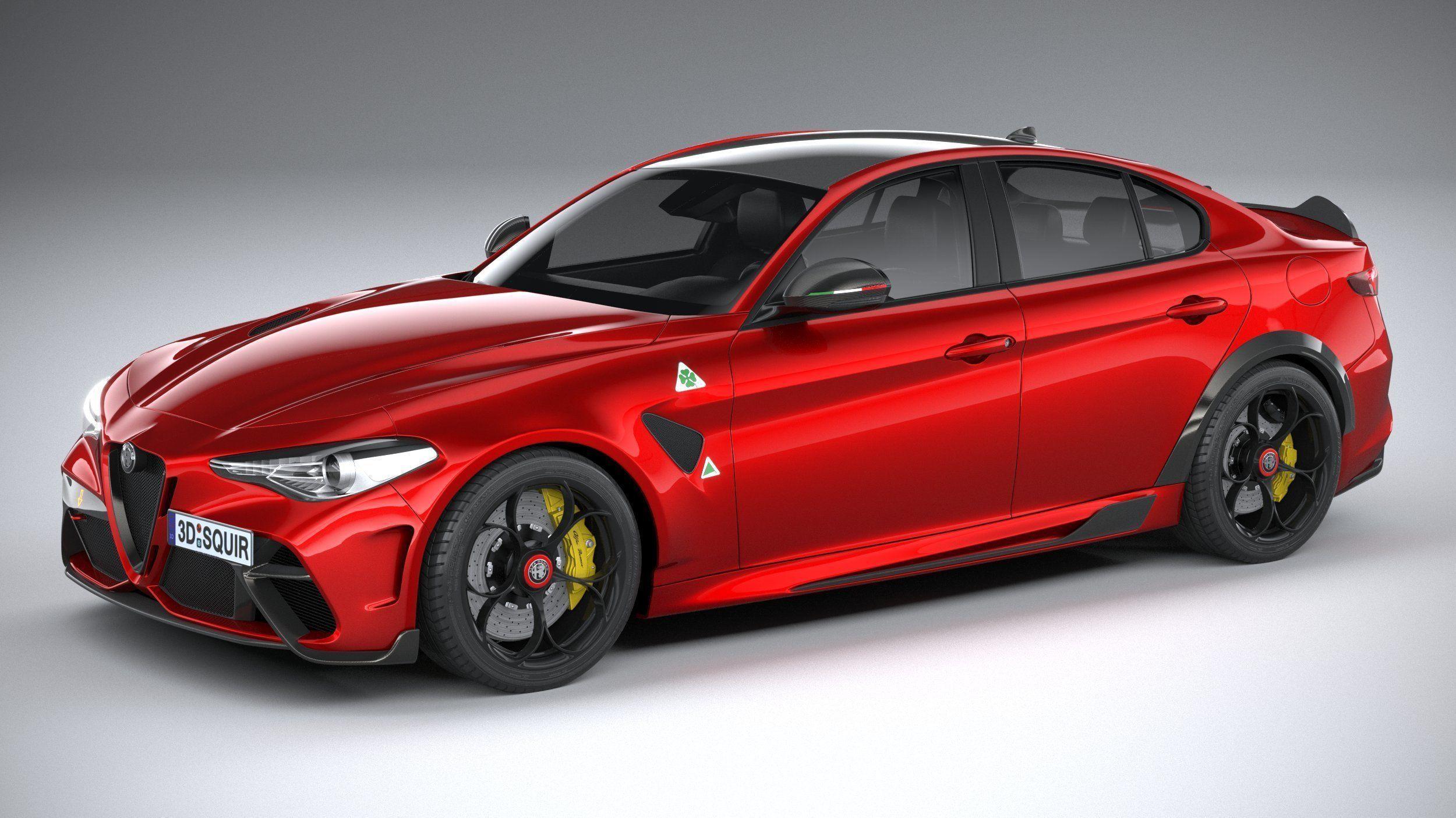 3D Alfa Romeo Giulia GTA 2021 | CGTrader