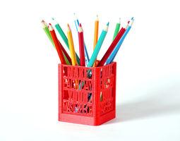 daily masterpiece desk organizer 3d print model