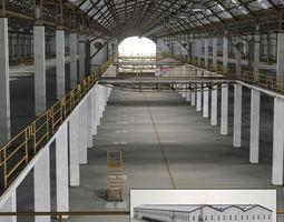Warehouse Building 3D model