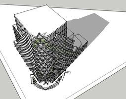 3D model buisness center