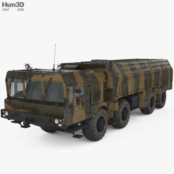 K720 Iskander MZKT-7930