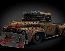 3D asset ZiL Zombie
