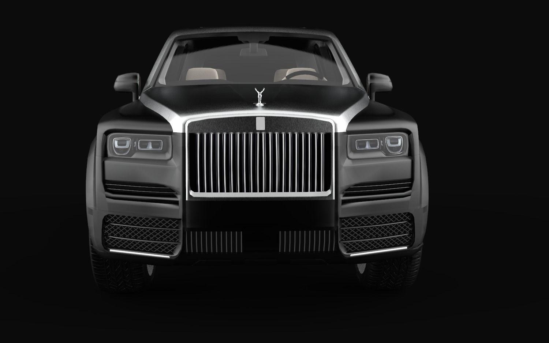 Rolls Royce Cullinan Mansory LoPoly