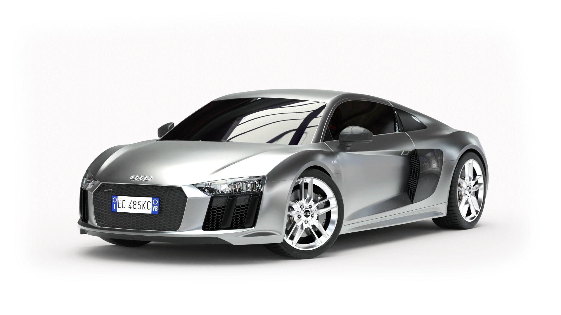 Audi R8 2016 - Rigged