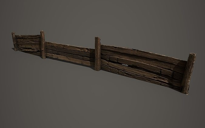 Wooden trench