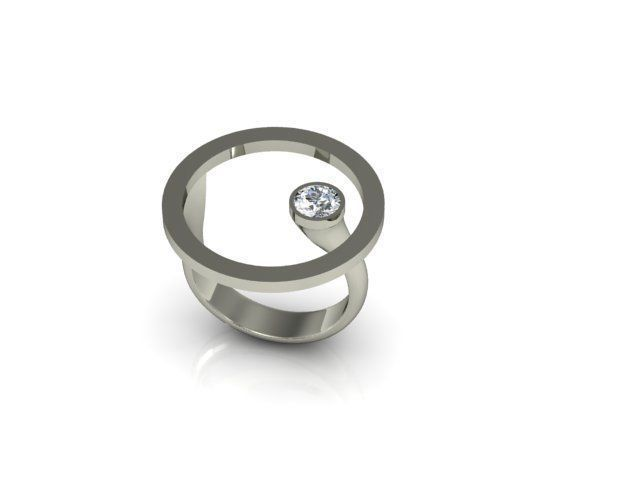 Round face ring