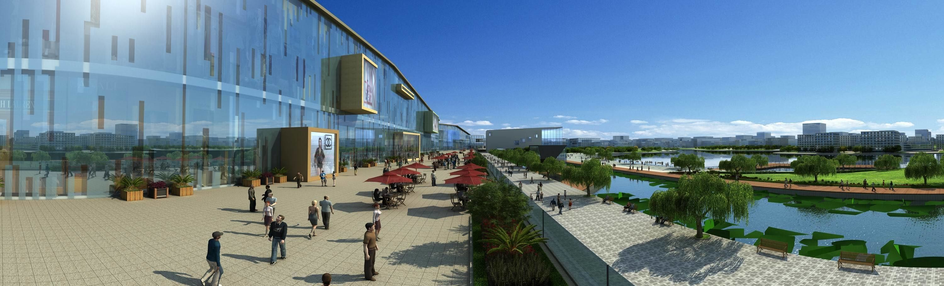 Riverside Large-scale Leisure Shopping Mall
