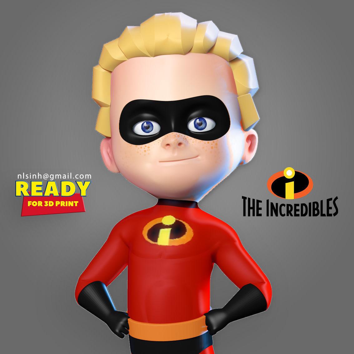 Dash Parr - Incredibles Fanart