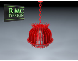 Chandelier 03 By RMC Design 3D model