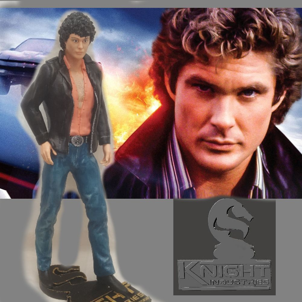 Knight Rider Young Hoff  by SPARX