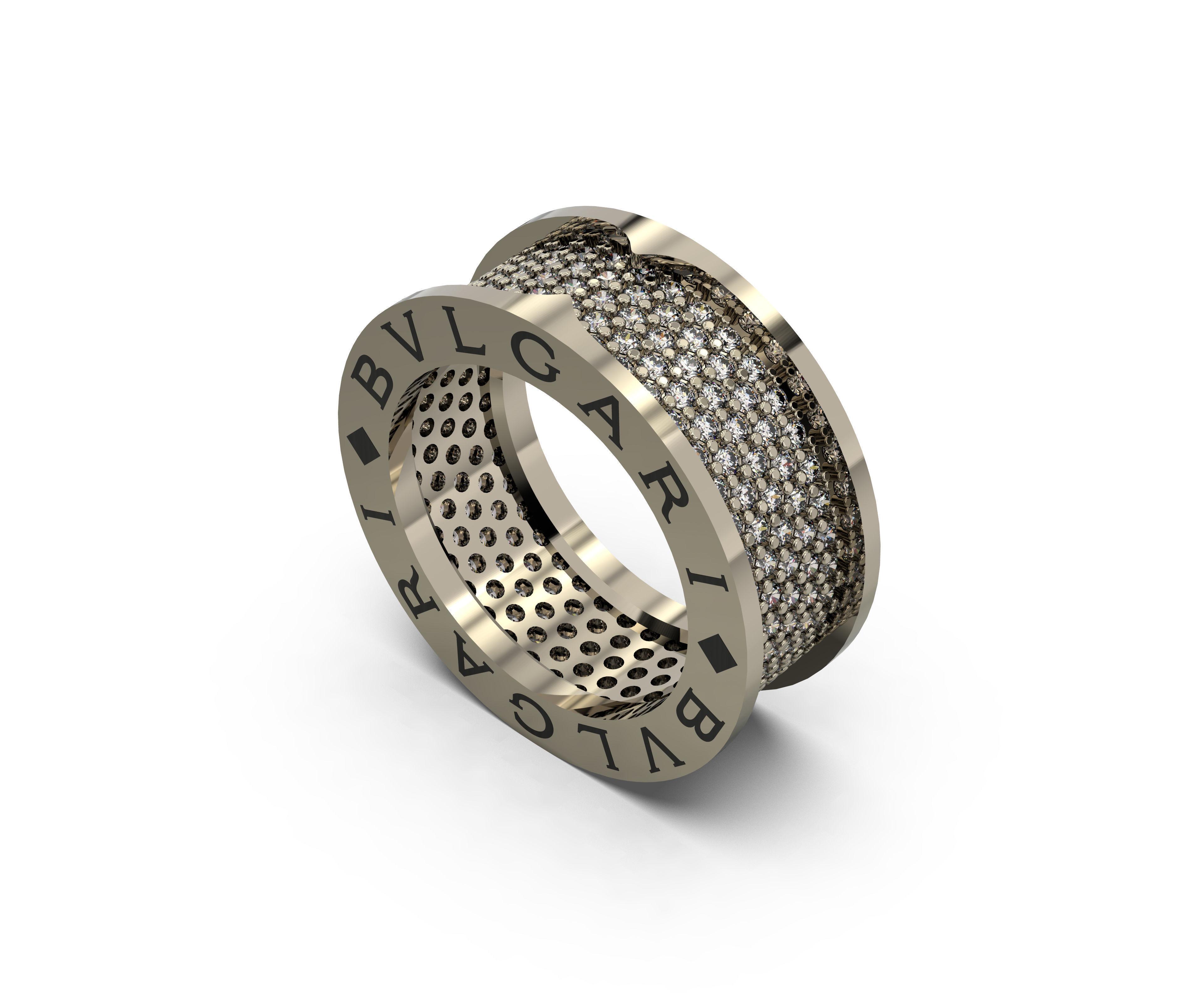 wedding ring bvlgari 3d models download wooding ring