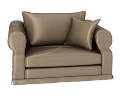 One person sofa 239 3D Model