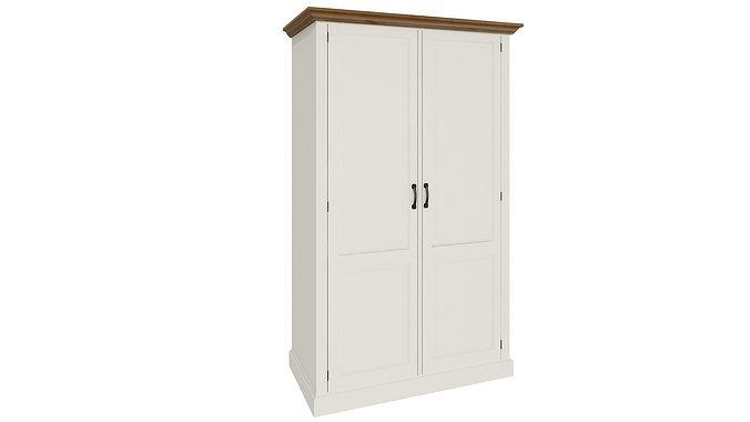3d model white wardrobe 196 cgtrader for 3d wardrobe planner