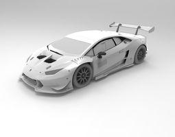 Lamborghini Huracan ST 3D Model