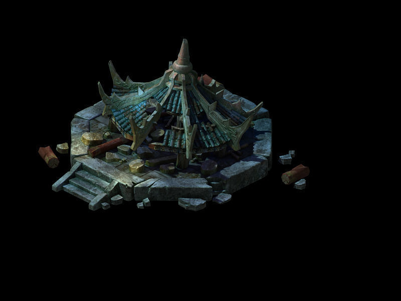 Game Model - Ruins 03