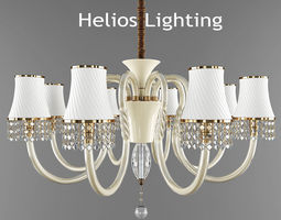 helios lighting chandelier 3d model