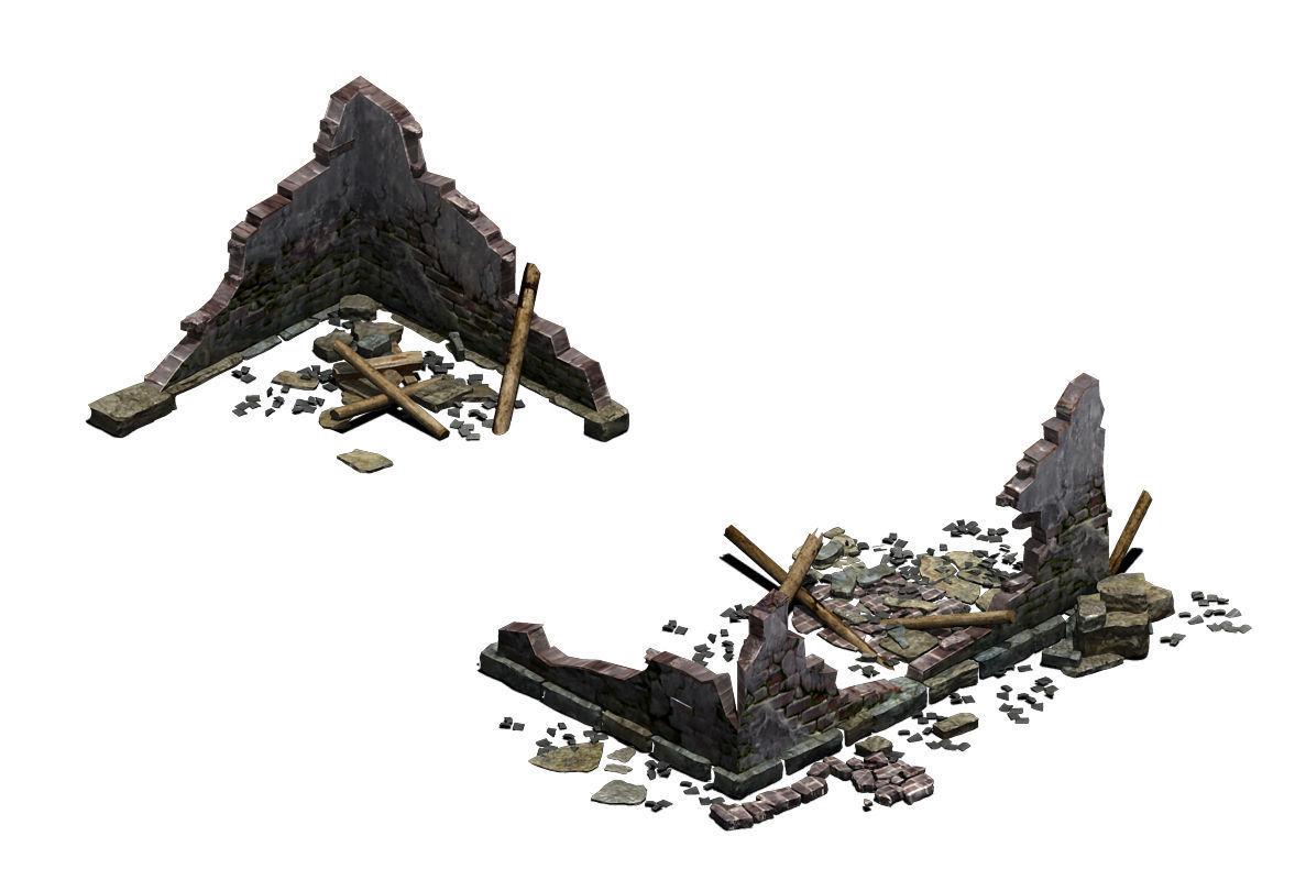 Building - ruins 004
