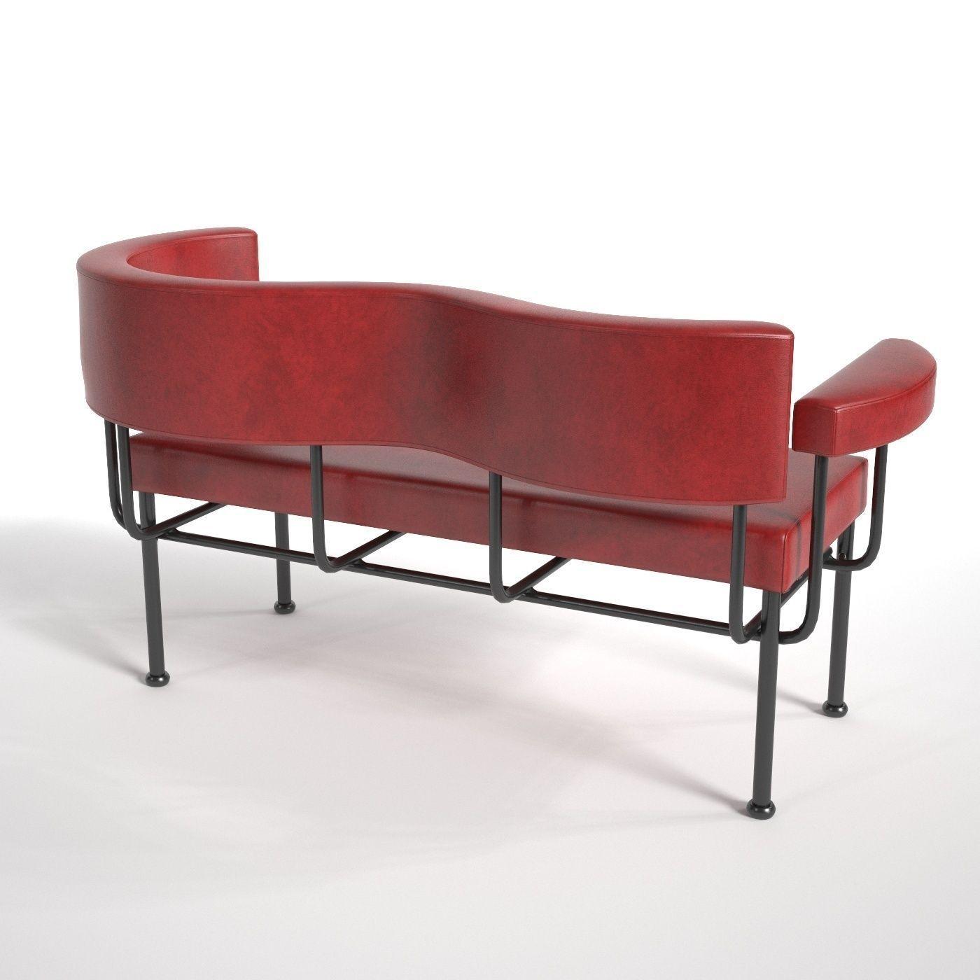 Stellar Works Cotton Club Sofa 3D