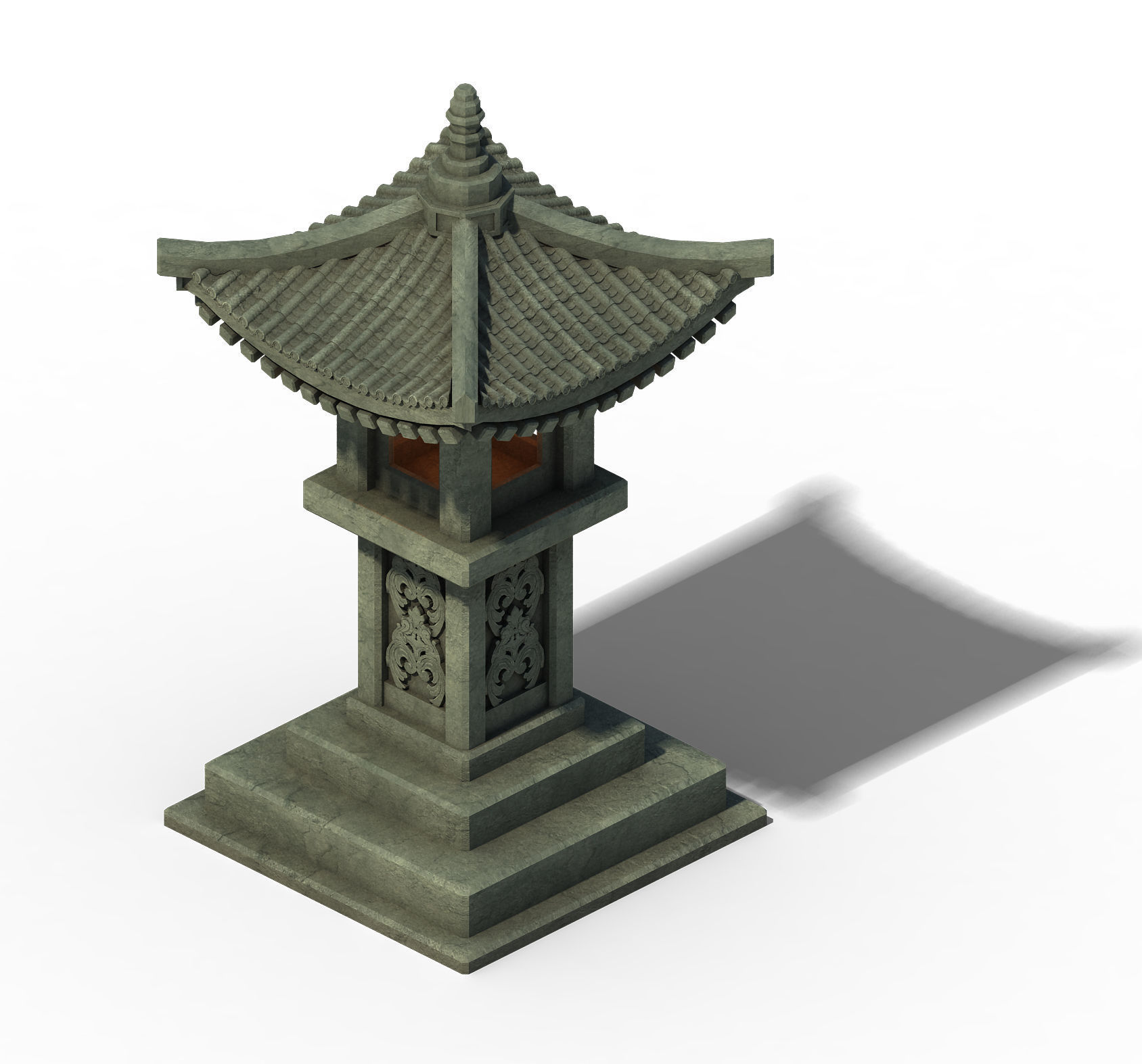 Architecture - Windland Prairie - Stone Lamp 01