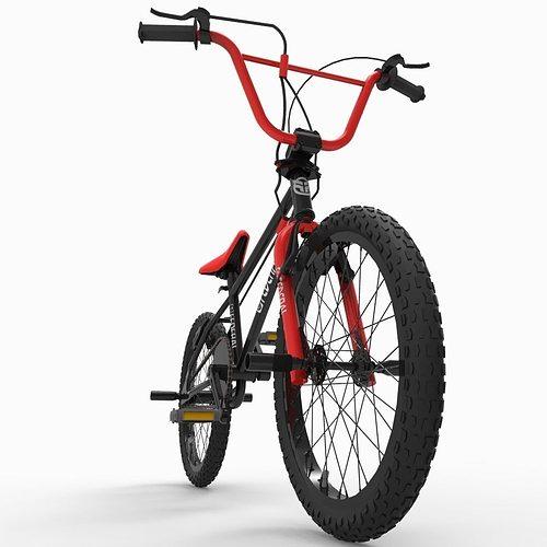 bicycle 3d model fbx ma mb 1