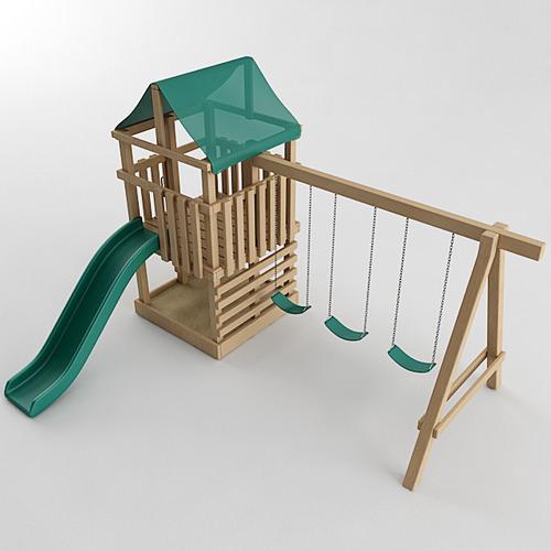 Playground Set3D model