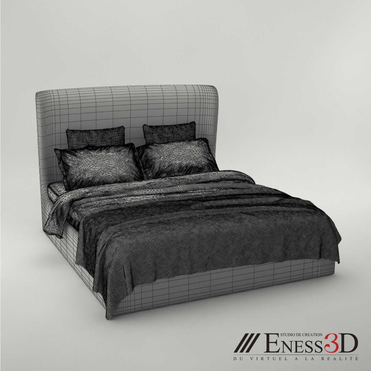 Pro Meridiani Loren Ghost Bed Model Max 5
