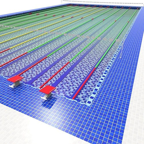3d asset olympic swimming pool cgtrader Olympic swimming pool water temperature