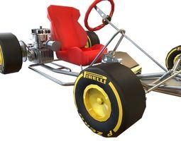 Go cart 3D Model