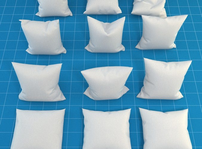 Pillow Collection3D model