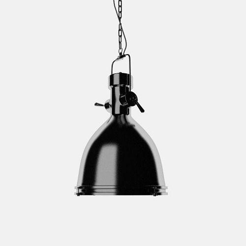 Industrial Ceiling Light 3ds Max: Industrial 35 Ceiling Lamp 3D Model OBJ 3DS C4D
