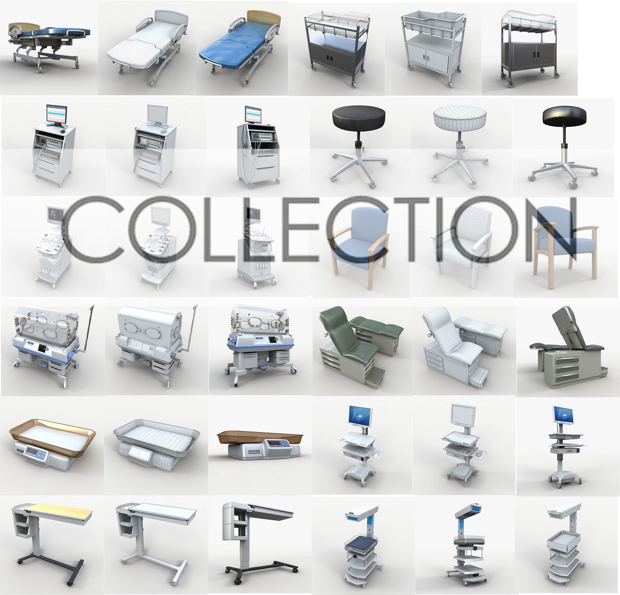 Collection Medical 44 unit