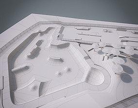 3D asset Skate park