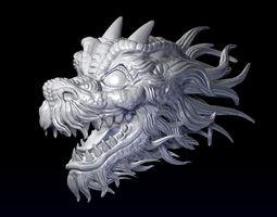 3D printable model Dragon head jewel
