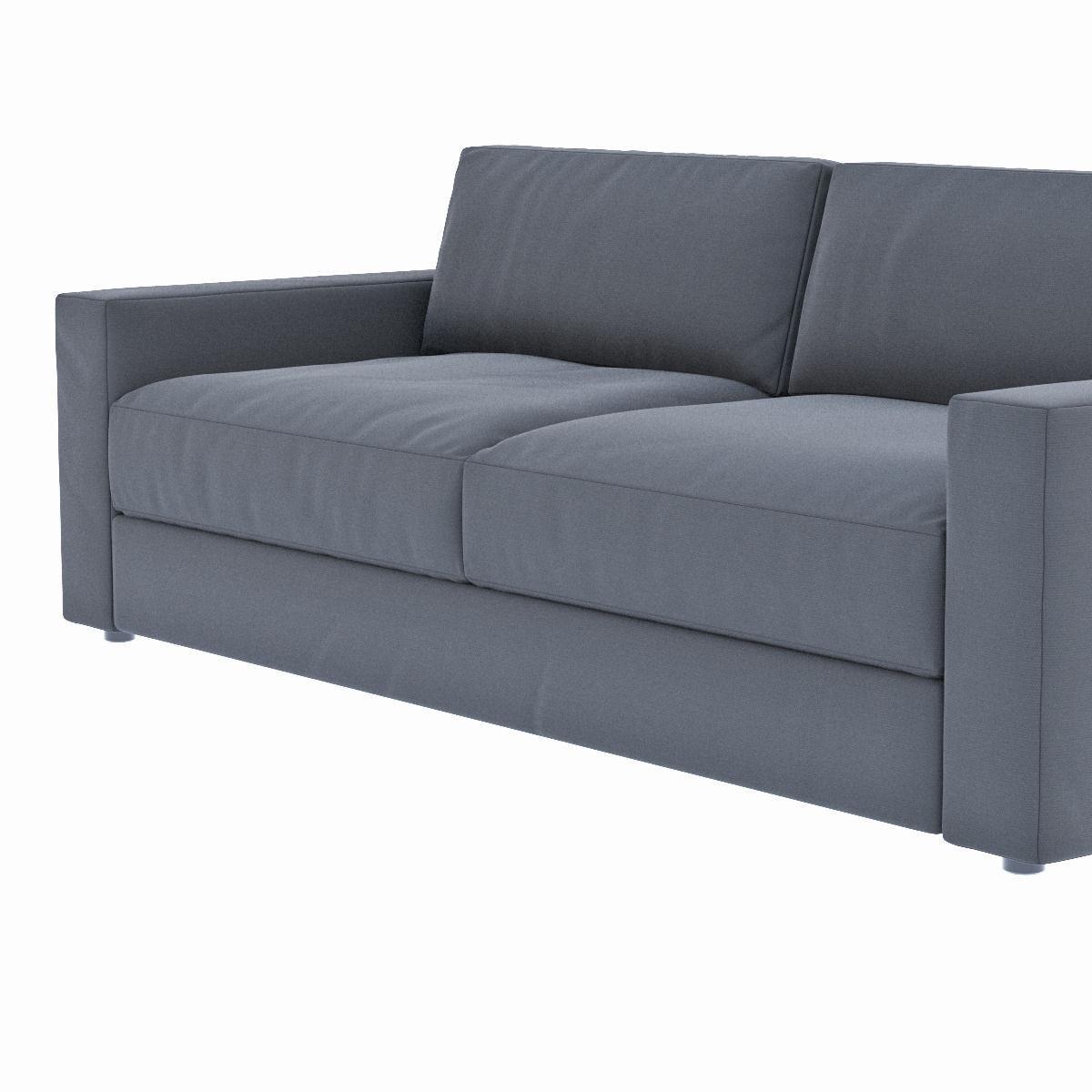 ... West Elm Urban Sofa 3d Model Max Obj Fbx Mtl 4 ...