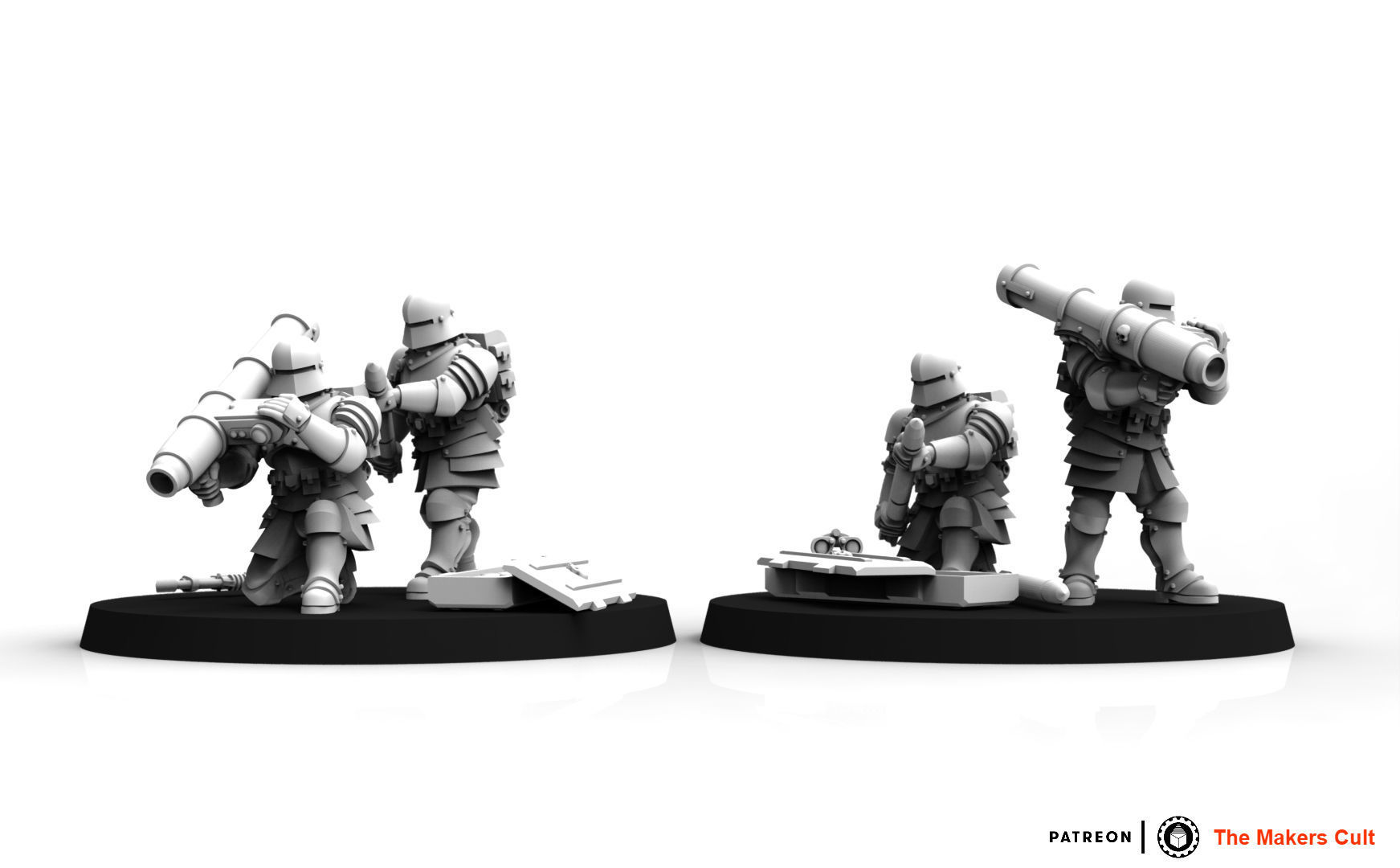 Feudal Guard Missile Launcher Team