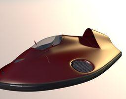 3d car hovercraft
