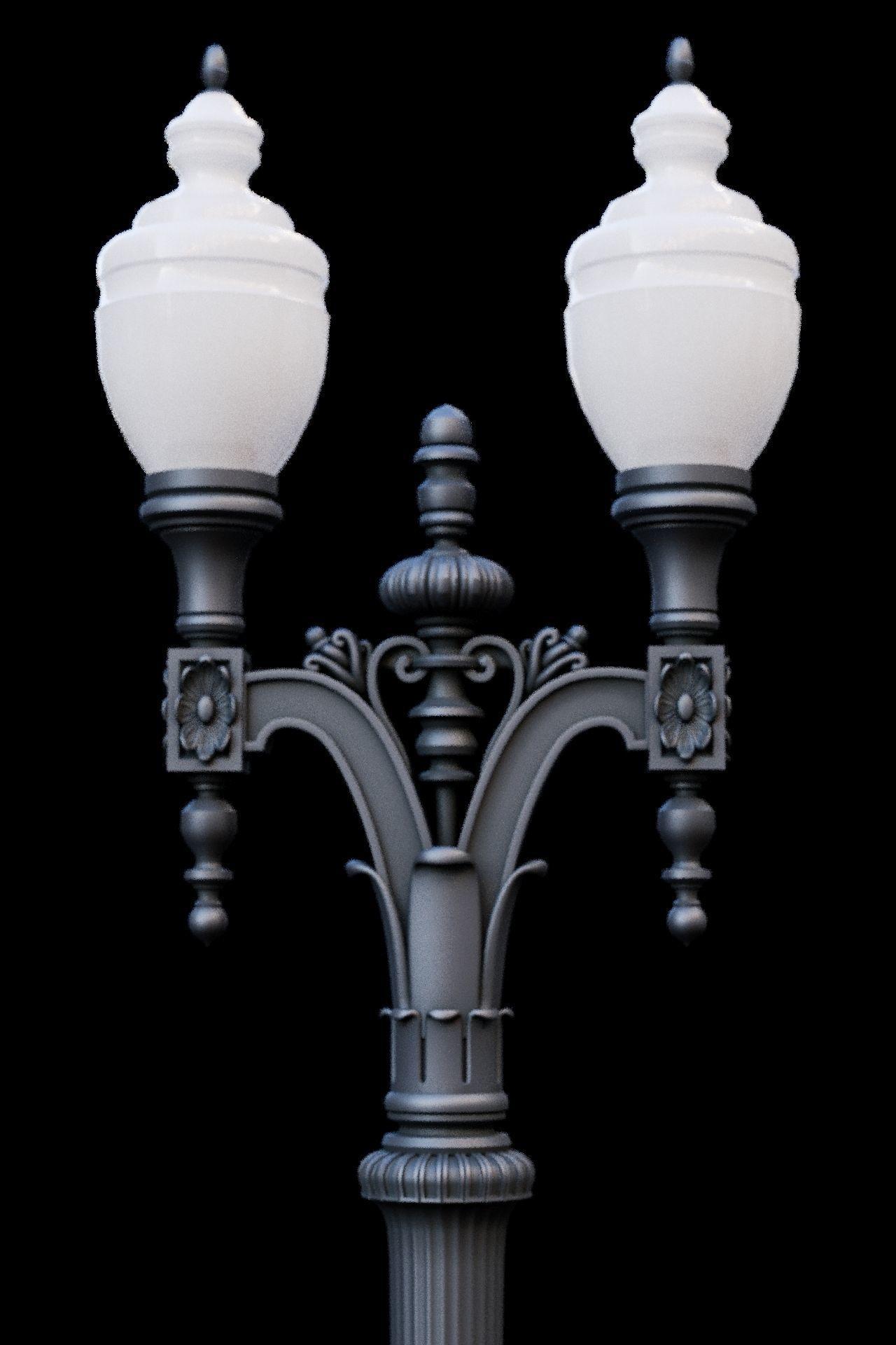 Historic Oakland Iron Street Light