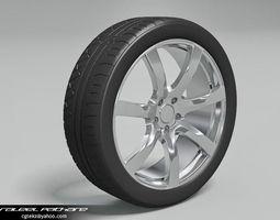 Tire Kumho Proxes 3D Model