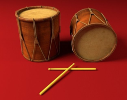ancient drum 3d model