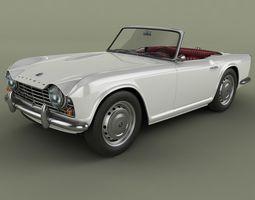 Triumph TR4 3D Model