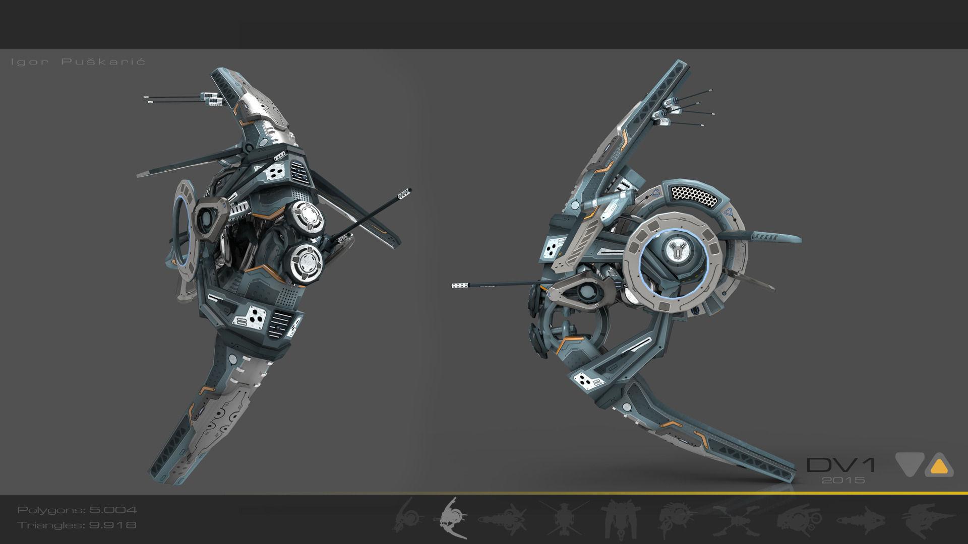 Cybertech Drone V1